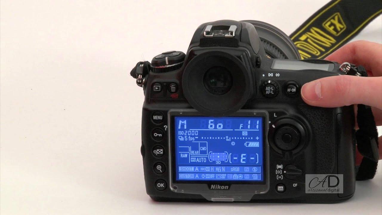 photography nikon adjusting shutter aperture youtube rh youtube com nikon d7100 manual settings Nikon D7200