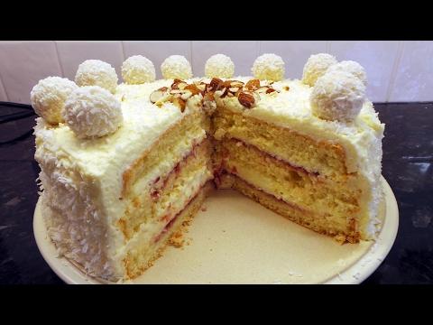 Almond & Coconut Cake