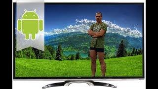 DEXP U42B9000K Распаковка и обзор 4к телевизора