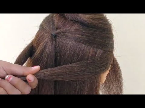 Awesome Hairstyle For Outgoing \\ Beautiful Hairstyle For Girl