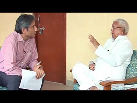 Prime Time: Lalu Yadav on why Nitish should be the Bihar face of Janata Pariwar