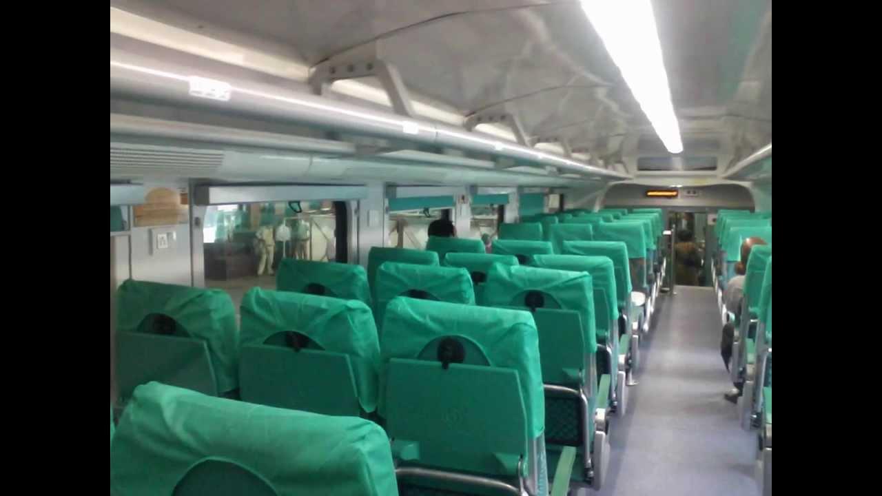 Inside Double Decker AC Coach Interiors: Ahmedabad Mumbai Double ...