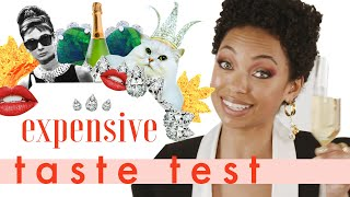 Logan Browning Knows Fancy Champagne Just By LOOKING At It🥂| Expensive Taste Test