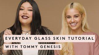 EVERYDAY GLASS SKIN TUTORIAL WITH TOMMY GENESIS | FENTY BEAUTY