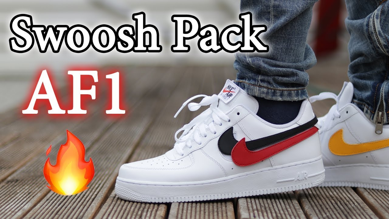 Nike Air Force 1 Velcro Swoosh Pack | Sneakerjagers
