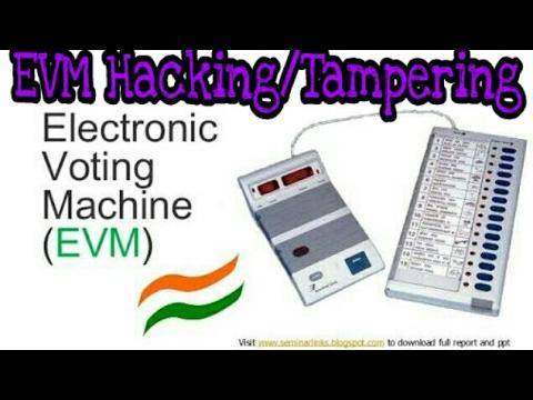 What is EVM    Is EVM can hacked!!!!    Methods Of hacking EVM