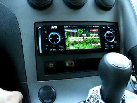 JVC KD-NX5000 in Pontiac Solstice dash - YouTube