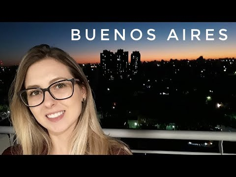 CHEGUEI EM BUENOS AIRES