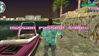 Grand Theft Auto Vice City gameplay on iPhone X