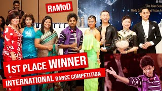 Sri Lankan Boy Winning an International Dance Competition 2011 - RaMoD (Must Watch) [Never Seen]