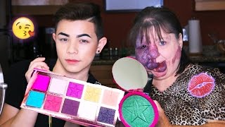 TRYING JEFFREESTAR COSMETICS WITH MY MOM! Beauty killer + Skin Frost