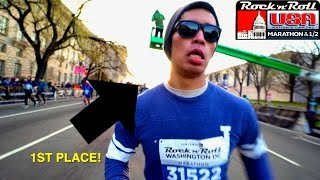 RUNNING MY FIRST MARATHON! | VLOG 03