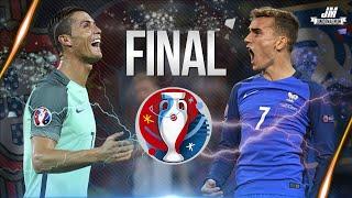 cristiano ronaldo vs antoine griezmann final euro 2016   hd