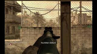 Call of Duty 4 Modern Warfare multiplayer video montage ( Sniper & AK-47 ) [HD]