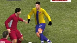 Pro Evolution Soccer 2008 PC Gameplay (1st Half)