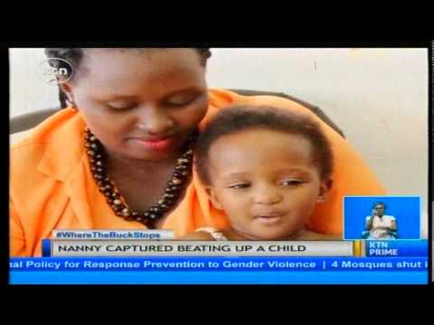 Ugandan nanny captured beating a child will appear in court on the 8th of December.