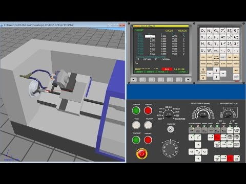 CADCAM Training CNC LATHE FANUC G71