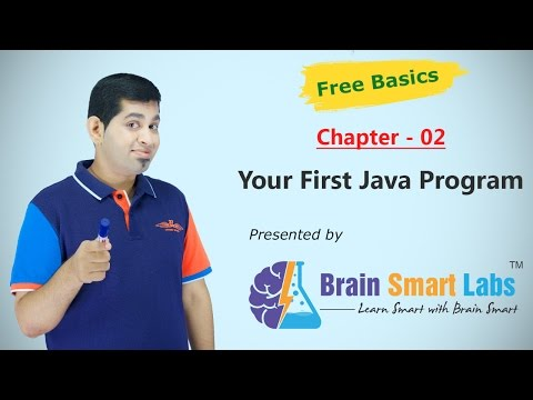 02-Your First Java Program