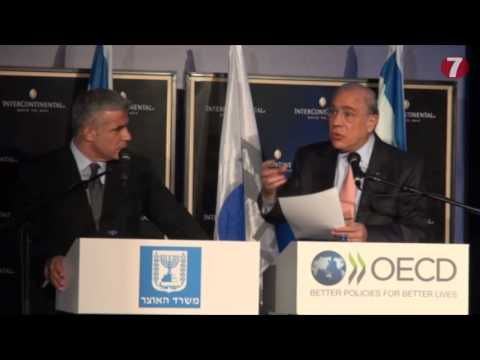 OECD Sec. Gen. Praises Israeli Economy, Notes Problems