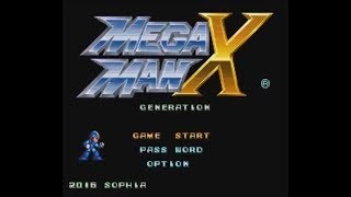 Mega Man X: Generation (SNES) - Longplay