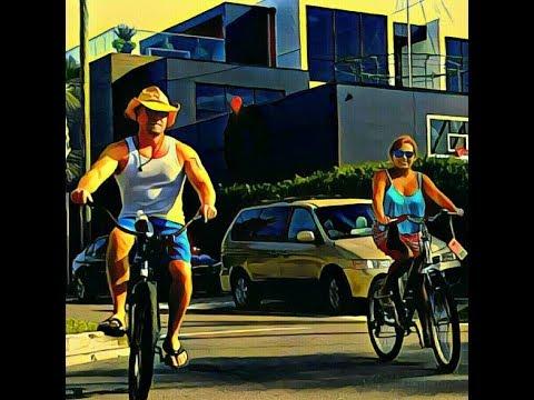 July 4th bike party 1st street Neptune & Jax Beach 2017