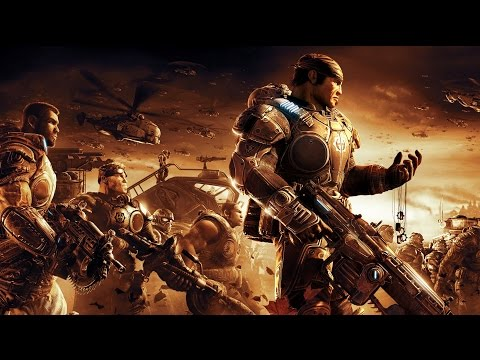 Gears of War 2 Game Movie (All Cutscenes) HD
