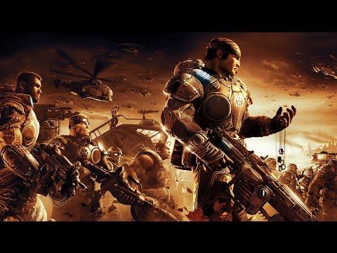 Gears of War 2 Game Movie (All Cutscenes) HD