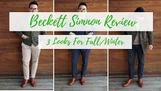 Beckett Simonon Hoyt Double Monk Review | Pros and Cons| 3 Outfits for Fall/ Winter