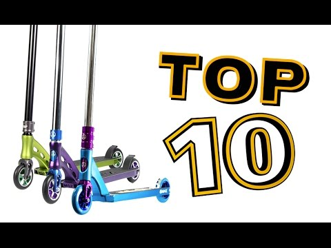 """TOP 10 BEST """"PRO"""" SCOOTERS (Completes - Part 1)"""