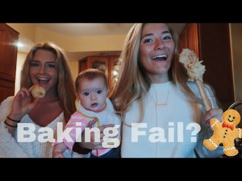 Bake Holiday Cookies With Us!! // how not to bake