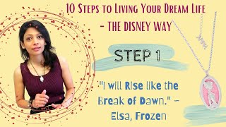 """I Will Rise like the Break of Dawn"" - Disney Frozen (Step 1) 