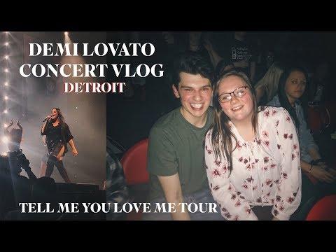 Demi Lovato Tell Me You Love Me Tour 3rd Row (vlog)