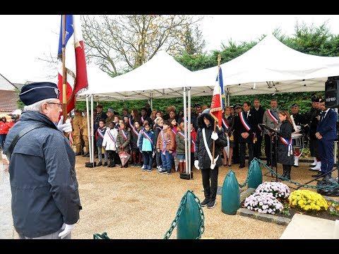 """""""Cérémonie de commémoration du Centenaire de l'Armistice du 11 novembre 1918 à Serris"""": <a href=""""https://t.co/tTedw07VZ4"""" target=""""_blank"""">youtu.be/OqyKs5hyxe0?a</a> via <a href=""""https://twitter.com/YouTube"""" target=""""_blank"""">@YouTube</a>"""