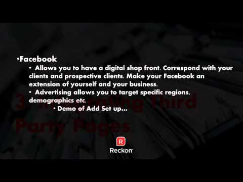 Webinar Recording  Digital & Social Media Advertising your business   Partners HD