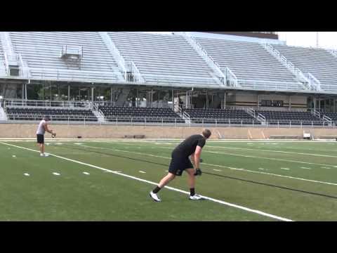 Workout with Brett Favre