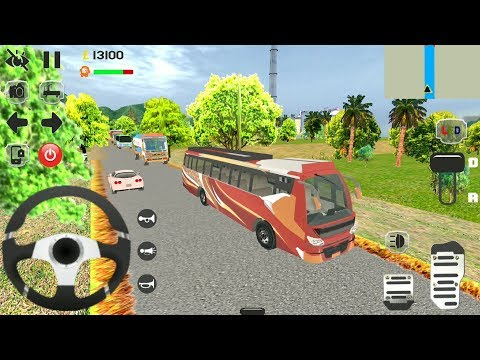 Bus Simulator India Real - #4 New Bus Games 2019 - Android GamePlay FHD