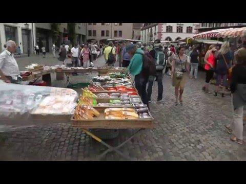 Freiburg im Breisgau | Stadtrundgang mit der Videokamera