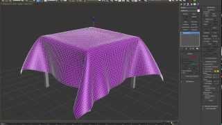Uso de Cloth en 3ds Max Tutorial