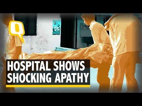 The Quint  Bihar: Man Carries Wife's Body on Shoulder As Hospital Denies Van