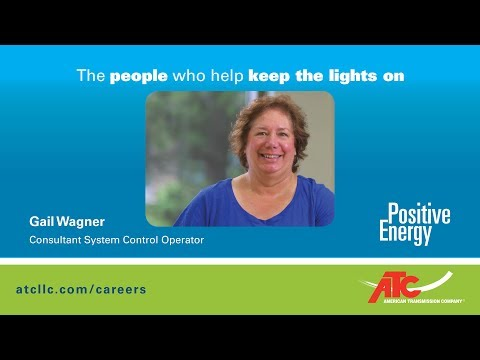 The people who help keep the lights on: Gail Wagner, Consultant System Control Operator