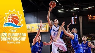 Israel v Italy - Full Game - FIBA U20 European Championship 2019