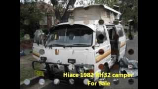 RH 32 Toyota Hiace campervan for sale