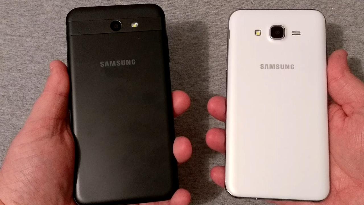 iphone 6 vs galaxy j7 perx