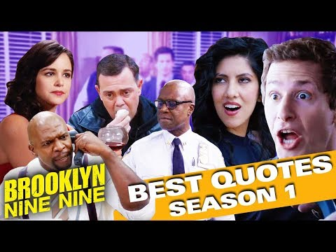 Best Quotes Of Season 1 | Brooklyn Nine-Nine