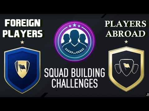 NEW SBC/FOREIGN PLAYERS/PLAYERS ABROAD/CHEAP/NO LOYALTY/ Fifa 17 Ultimate Team