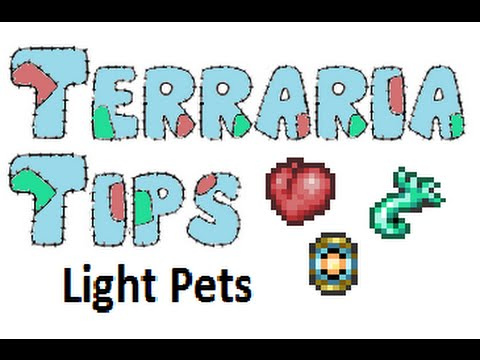 Terraria Tips Light Pets Youtube