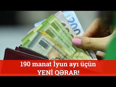 190 Manat Alanlara ŞAD XƏBƏR! Yeni Qərar Açıqlandı