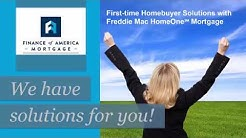 First-time Homebuyer Solutions with Freddie Mac HomeOne Mortgage