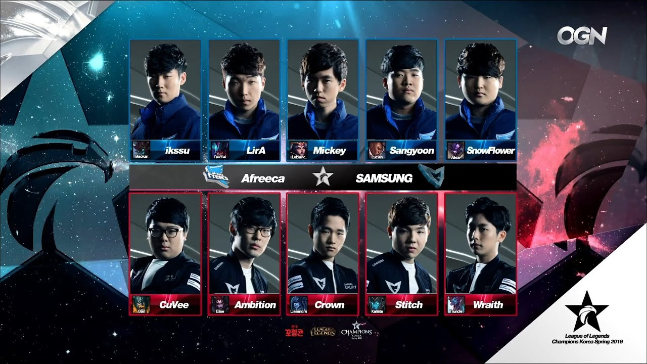 AFS vs SSG Game 1 Highlights - AFREECA FREECS vs SAMSUNG GALAXY - LCK Week  1 - SPRING 2016