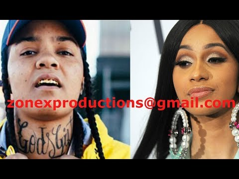 Young M.A PULLS up at Cardi B Apartment in the bronx,wit her goons,surround the WHOLE blok